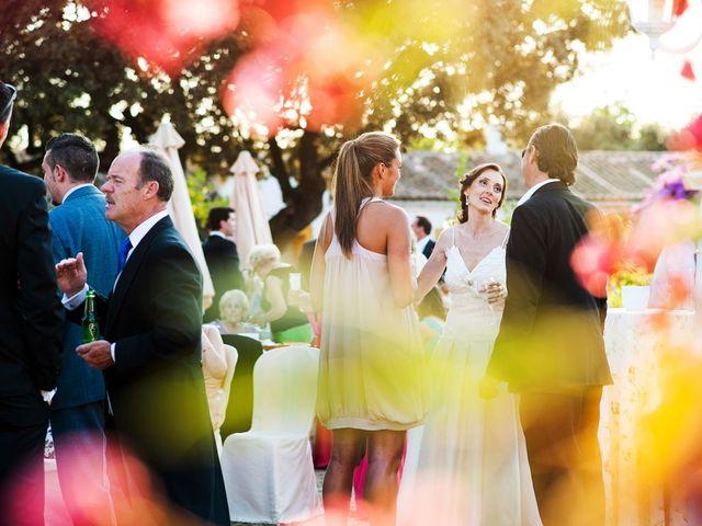 La boda de Alberto y Eva en Navas Del Madroño, Cáceres 35
