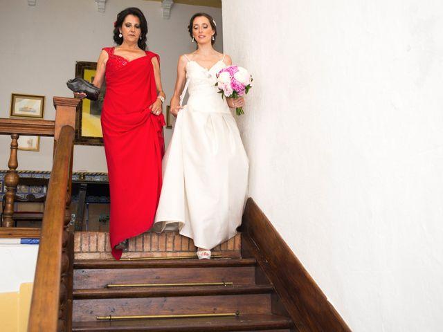 La boda de Alberto y Eva en Navas Del Madroño, Cáceres 18