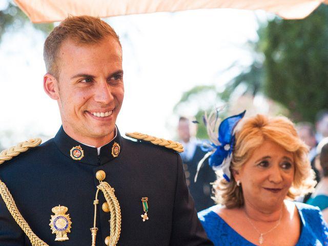 La boda de Alberto y Eva en Navas Del Madroño, Cáceres 25