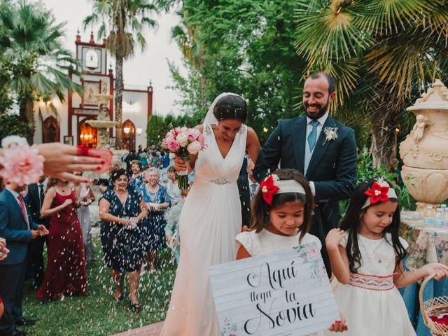 La boda de Alfonso y Silvia  en Puente Genil, Córdoba 16