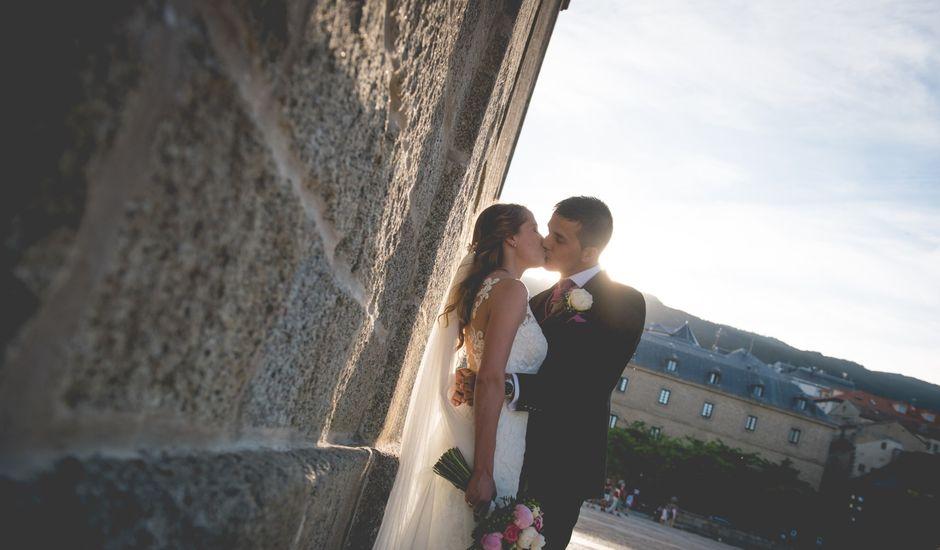 La boda de Aitor y Cristina en El Escorial, Madrid