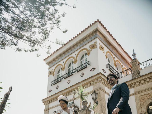 La boda de Andrés y Isabel en Sanlucar La Mayor, Sevilla 28