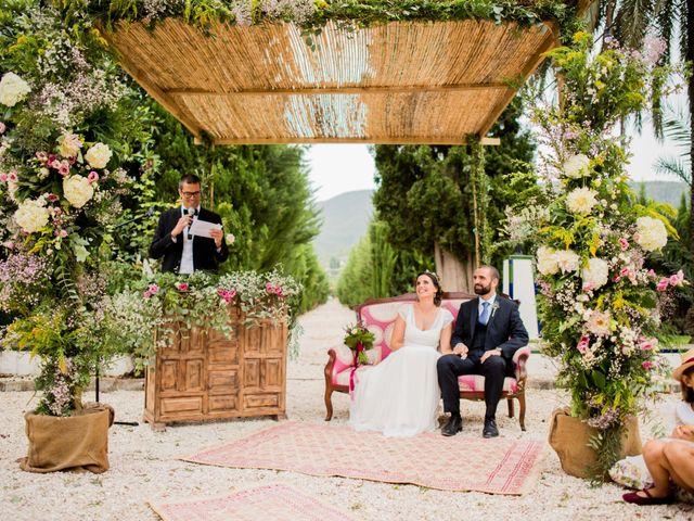 La boda de David y Julia en Enguera, Valencia 37