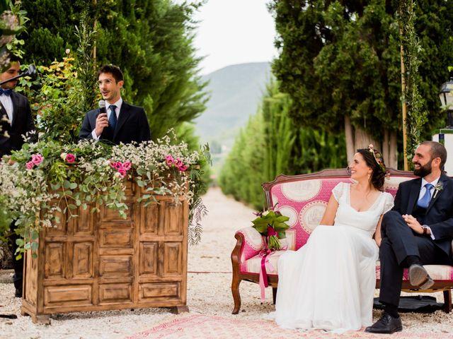 La boda de David y Julia en Enguera, Valencia 40