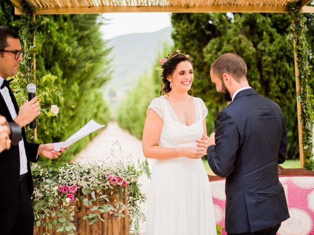 La boda de David y Julia en Enguera, Valencia 43