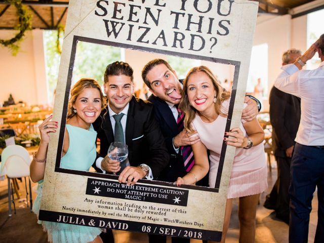 La boda de David y Julia en Enguera, Valencia 76