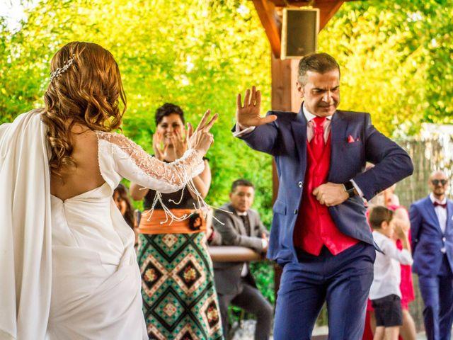 La boda de Alberto y María en Torrejon De La Calzada, Madrid 42
