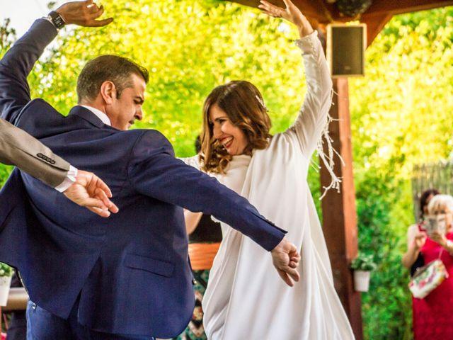 La boda de Alberto y María en Torrejon De La Calzada, Madrid 43