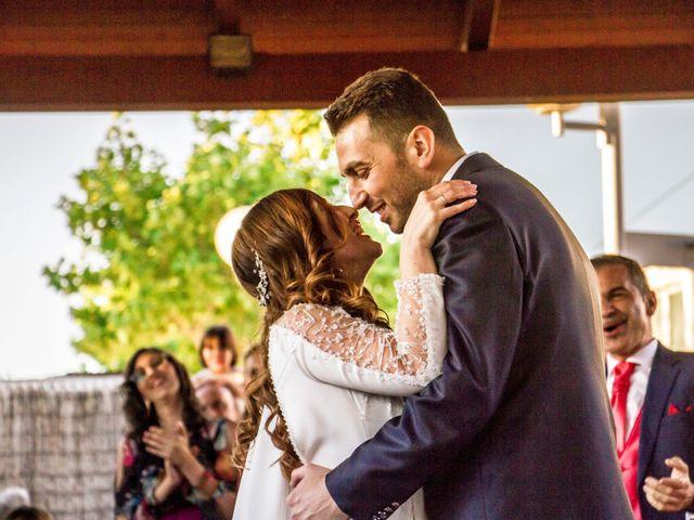 La boda de Alberto y María en Torrejon De La Calzada, Madrid 46