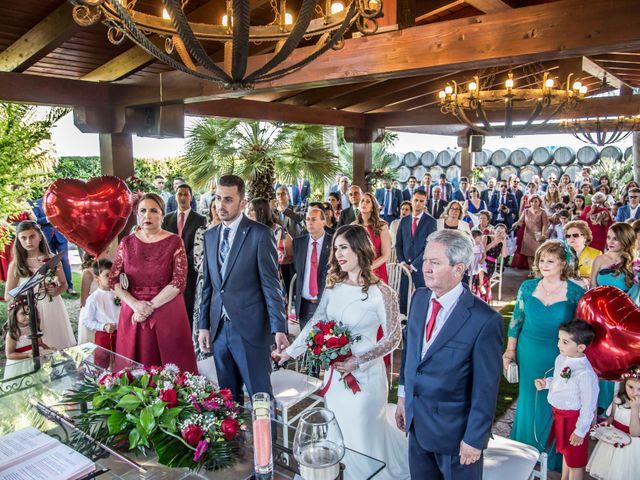 La boda de Alberto y María en Torrejon De La Calzada, Madrid 51