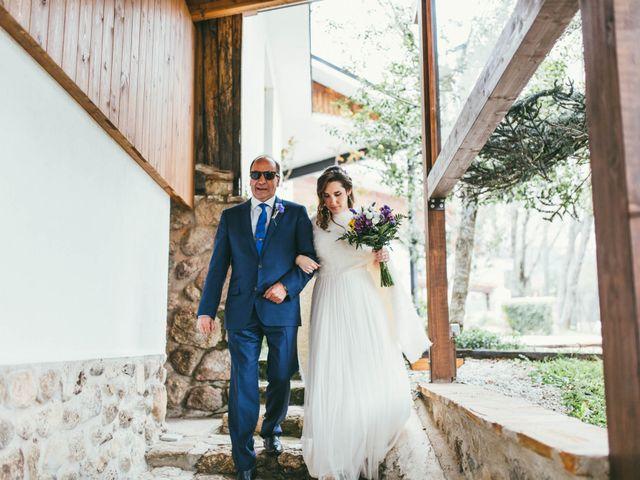 La boda de Jaime y Veronica en Rascafria, Madrid 36