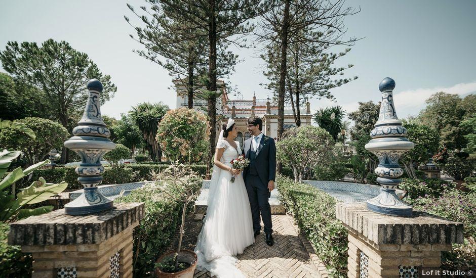 La boda de Andrés y Isabel en Sanlucar La Mayor, Sevilla