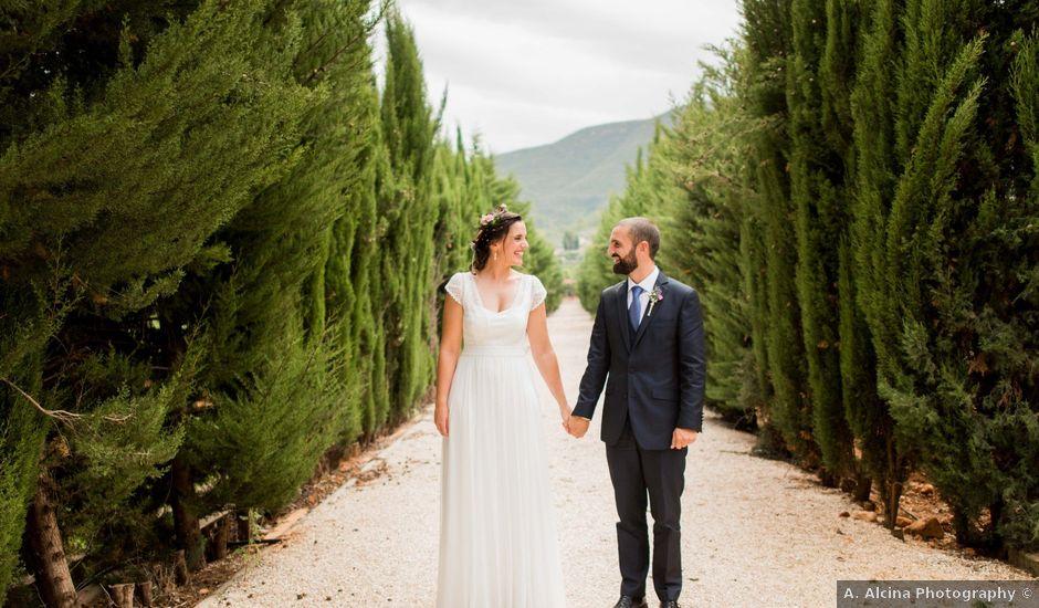 La boda de David y Julia en Enguera, Valencia