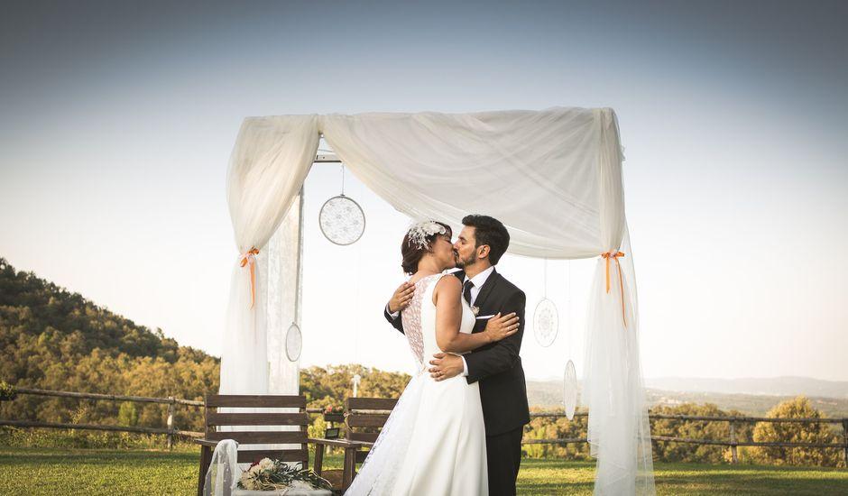 La boda de Xavier y Cristina en Girona, Girona