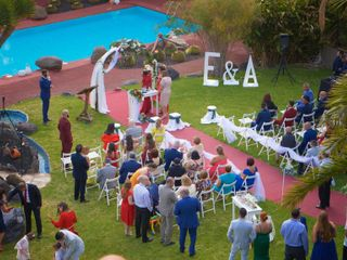 La boda de Abenchara y Efren 3