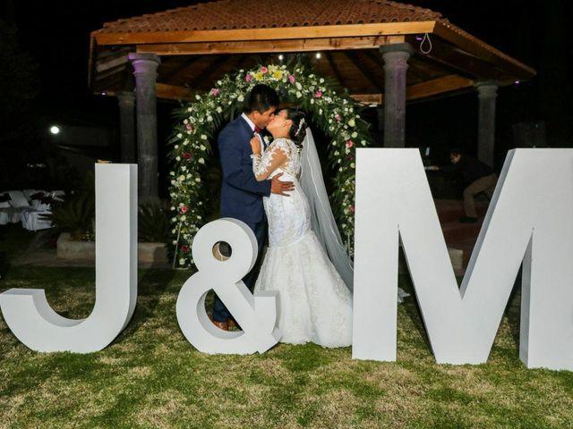 La boda de Jonathan y Magdhen en Puebla De Valles, Guadalajara 1
