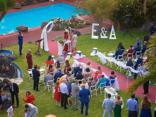 La boda de Efren y Abenchara en Galdar, Las Palmas 4