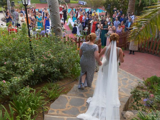 La boda de Efren y Abenchara en Galdar, Las Palmas 9