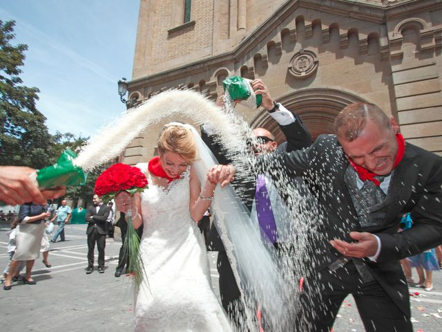 La boda de Ismael y Irene en Pamplona, Navarra 1