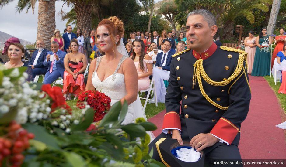 La boda de Efren y Abenchara en Galdar, Las Palmas