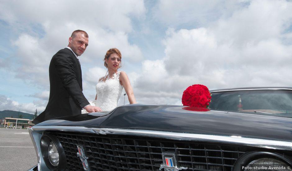 La boda de Ismael y Irene en Pamplona, Navarra