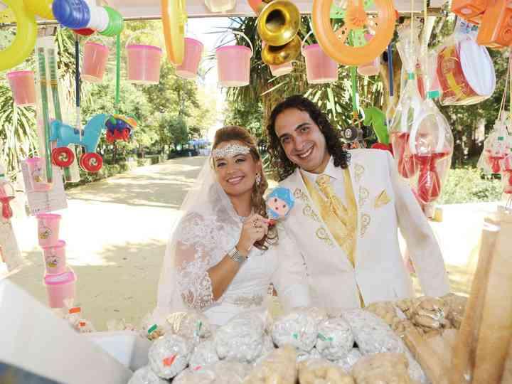 La boda de Angy y Apa