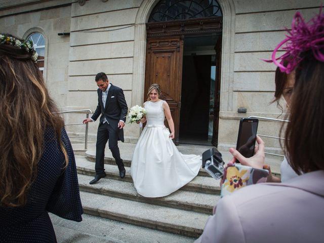 La boda de Rafa y Paula en Ponteareas, Pontevedra 1