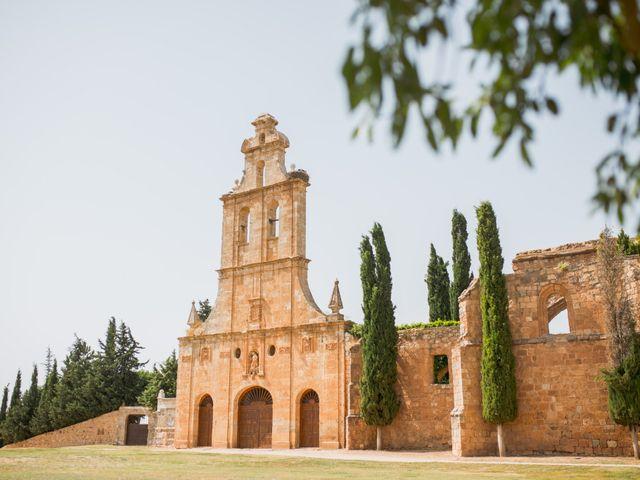 La boda de Ignacio y Noelia en Ayllon, Segovia 1