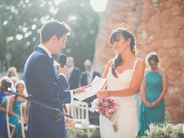 La boda de Ignacio y Noelia en Ayllon, Segovia 140