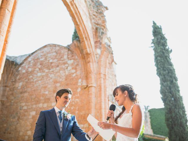 La boda de Ignacio y Noelia en Ayllon, Segovia 143