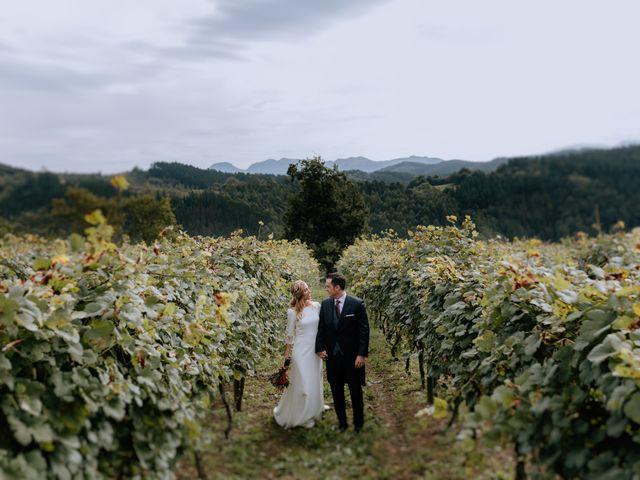La boda de Manu y Sara en Larrabetzu, Vizcaya 83