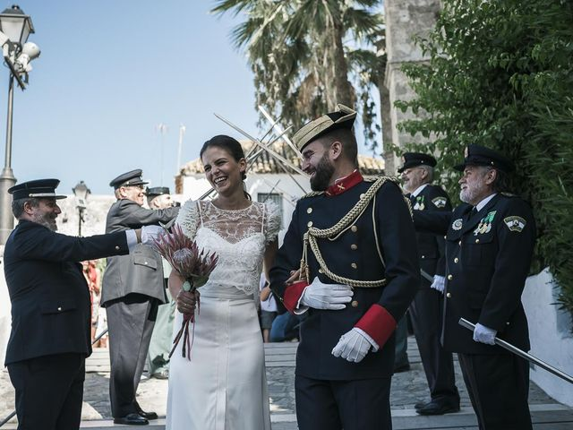 La boda de Marco y Paula en Vejer De La Frontera, Cádiz 42