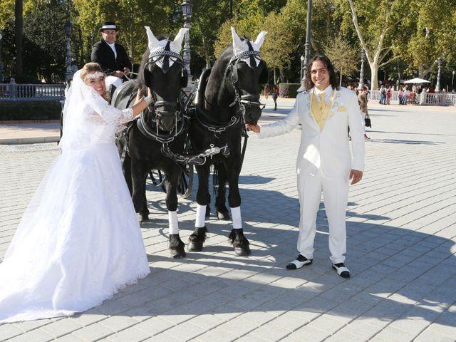 La boda de Apa y Angy en Sevilla, Sevilla 27