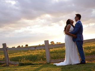 La boda de Iris y Osvaldo