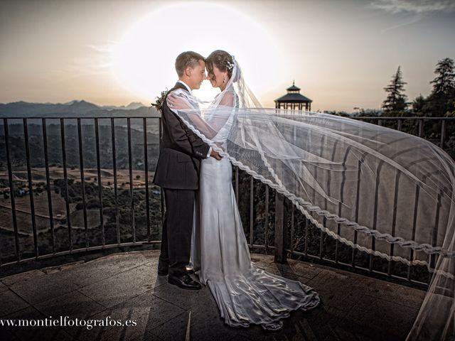 La boda de Joaquín  y Vero en Arriate, Málaga 1