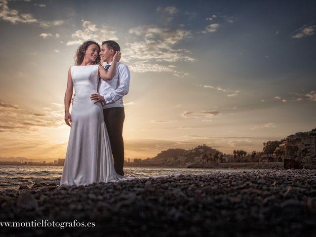 La boda de Joaquín  y Vero en Arriate, Málaga 2