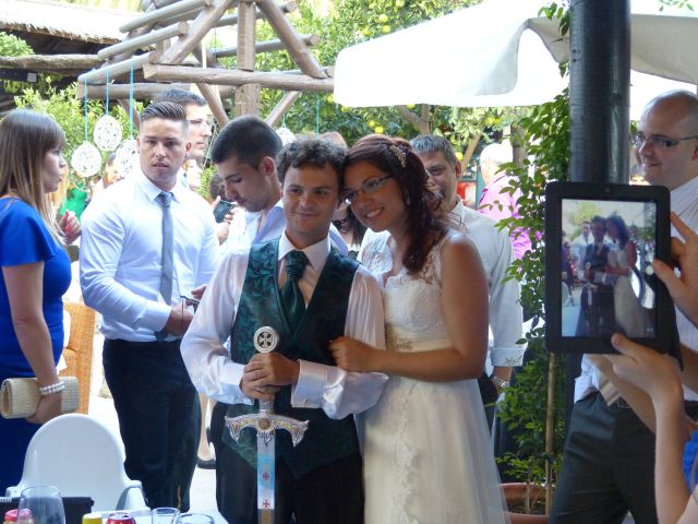 La boda de Benjamín y Micaela