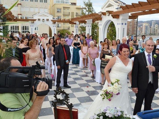 La boda de Dani y Isa en L' Alfàs Del Pi, Alicante 3