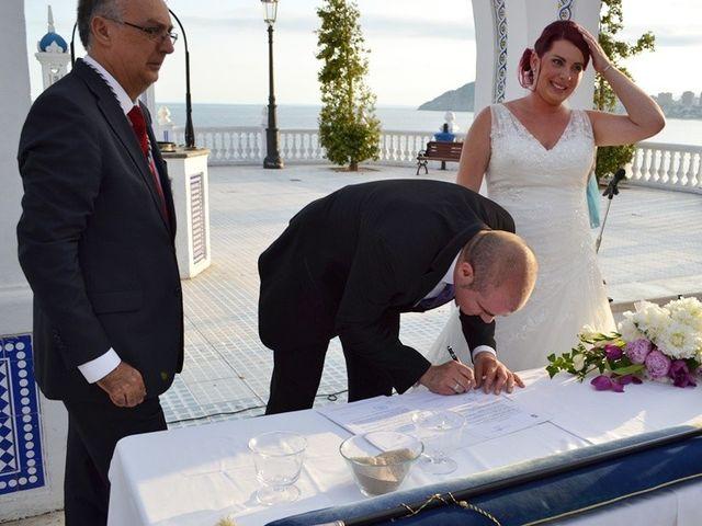 La boda de Dani y Isa en L' Alfàs Del Pi, Alicante 5