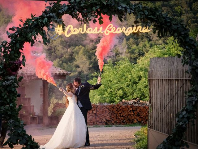 La boda de Carlos y Georgina en Tagamanent, Barcelona 13