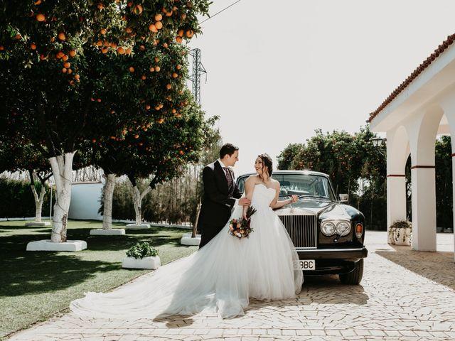 La boda de Laura y Jose Antonio en La Algaba, Sevilla 31