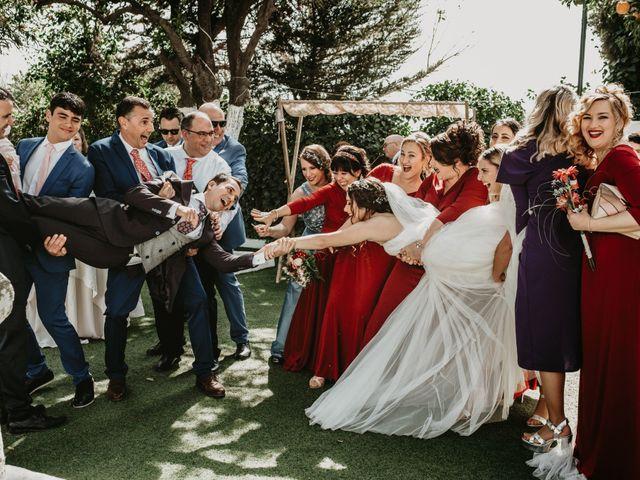 La boda de Laura y Jose Antonio en La Algaba, Sevilla 32