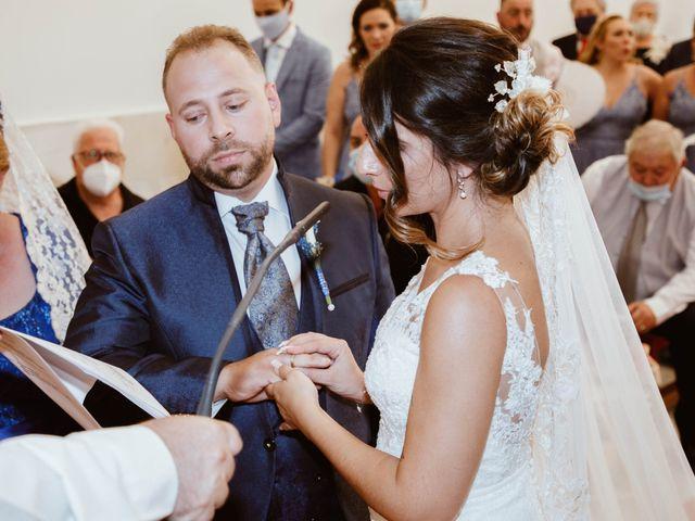 La boda de Cesar y Lorena en Valdilecha, Madrid 43