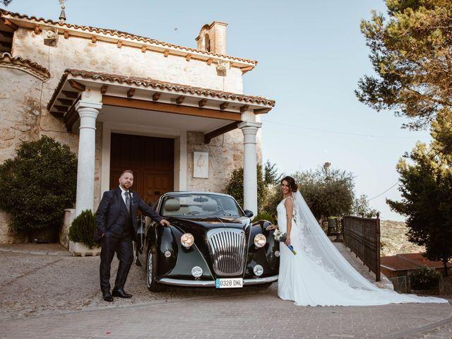 La boda de Cesar y Lorena en Valdilecha, Madrid 61