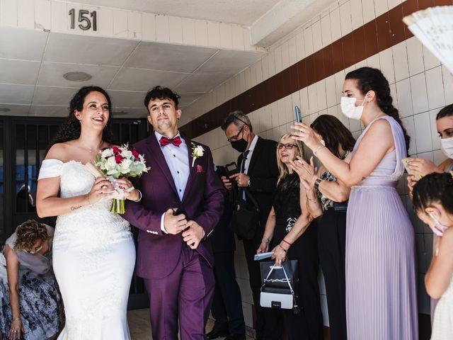 La boda de Esteve y Rocío en Sant Vicenç De Montalt, Barcelona 25