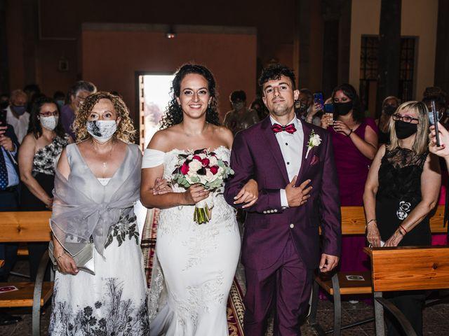La boda de Esteve y Rocío en Sant Vicenç De Montalt, Barcelona 32