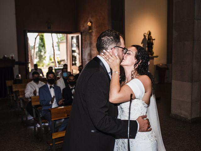 La boda de Esteve y Rocío en Sant Vicenç De Montalt, Barcelona 38