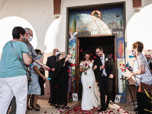 La boda de Esteve y Rocío en Sant Vicenç De Montalt, Barcelona 43