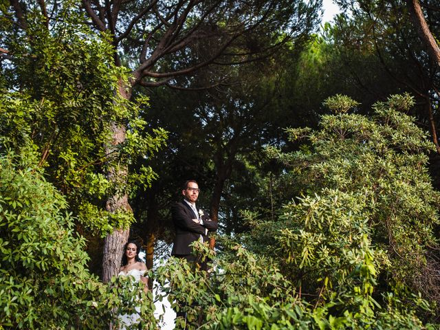 La boda de Esteve y Rocío en Sant Vicenç De Montalt, Barcelona 52