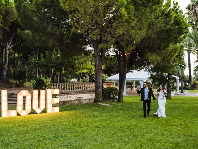 La boda de Esteve y Rocío en Sant Vicenç De Montalt, Barcelona 55